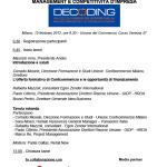 Convegno _Management e competitività d'impresa_ - febbraio 2012